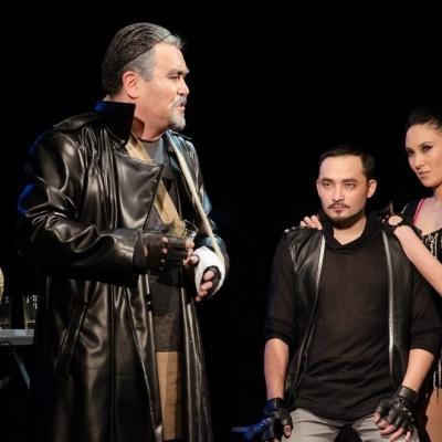 Айжан Ахмет. «Қара шекпен» спектакліндегі қоғамдық шындық
