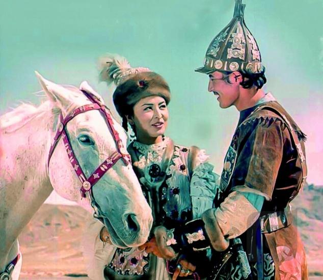 Лиро-эпостық жырлардың экрандалуы: фольклорлық элементтер кинодеталь ұғымы тұрғысынан