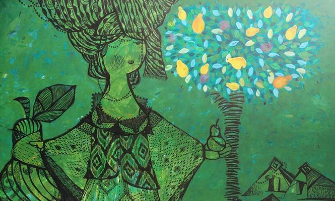 """Ә.Қастеев музейінің Орталық көрме залында """"Шабыт сызықтары"""" атты көрмесінің ашылуы болады"""