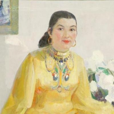 Айша Ғалымбаеваның туғанына 100 жыл толуына орай көрме ашылды