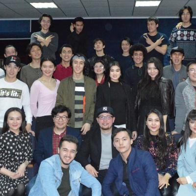 """""""Astana Musical"""" театры Алматы төрінде / видео"""