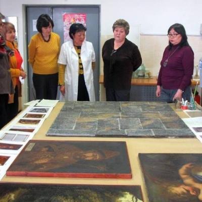 Алматы мұражайларындағы реставрациялық істің қалыптасуы