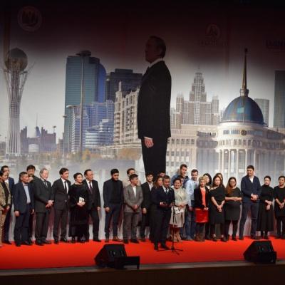 Алматыда «Елбасы жолы. Астана»  фильмінің тұсаукесері өтті
