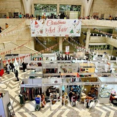 Халықаралық «Christmas Art Fair-2018» атты көрме-жәрмеңкесі өтеді