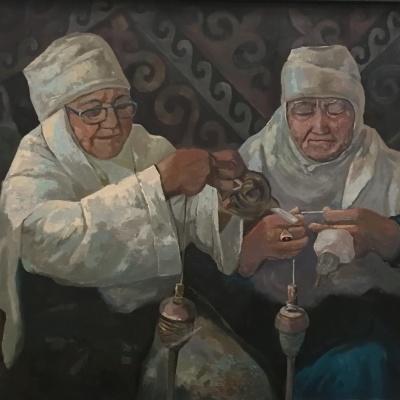 Суретші Жиенбай Орынбаевтың «Менің көрмем» атты жеке шығармашылық көрмесі ашылады