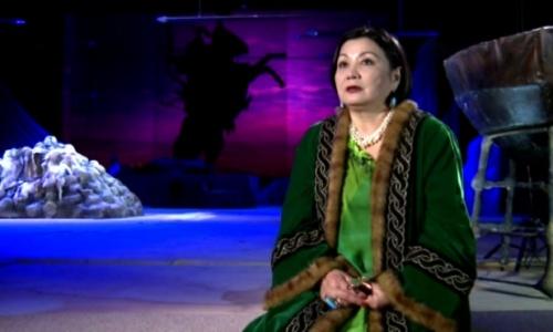 Алма Арғын: Менің сахнадағы тілім - мизансцена