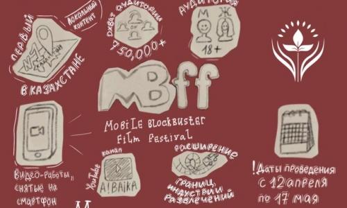 "Qazaqstanda ""Mobile Blockbuster film festival"" baıqaýy ashyldy"