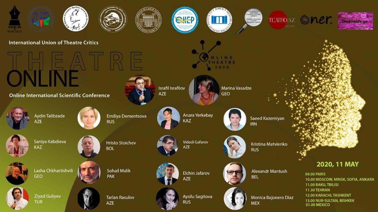 """""""Theatre Online"""" халықаралық ғылыми конференция бағдарламасы"""