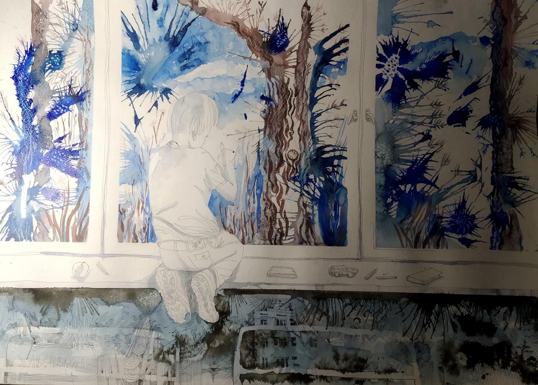 """Светлана Какоткинаның """"Өмір иірімдері"""" көрмесінің ашылуы өтеді"""