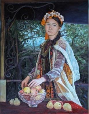 Т.Қожағұловтың «Томирис» картинасындағы көркемдік ерекшеліктер