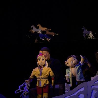 Алматы Мемлекеттік Қуыршақ театры Елорда күнінің қарсаңында «Ер Төстік» қойылымын ұсынады